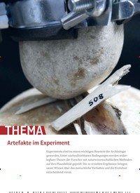 Titelbild der Ausgabe 2/2020 von Artefakte im Experiment. Zeitschriften als Abo oder epaper bei United Kiosk online kaufen.