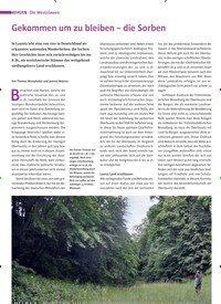 Titelbild der Ausgabe 3/2020 von Die Westslawen: Gekommen um zu bleiben – die Sorben. Zeitschriften als Abo oder epaper bei United Kiosk online kaufen.