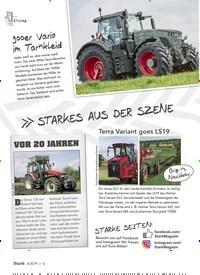 Titelbild der Ausgabe 4/2019 von STARKES AUS DER SZENE. Zeitschriften als Abo oder epaper bei United Kiosk online kaufen.