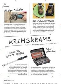 Titelbild der Ausgabe 4/2019 von KRIMSKRAMS. Zeitschriften als Abo oder epaper bei United Kiosk online kaufen.