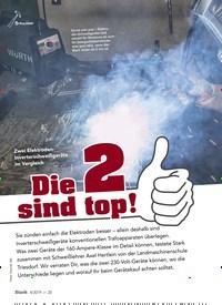 Titelbild der Ausgabe 4/2019 von Zwei Elektroden-Inverter Schweißgeräte im Vergleich: Die 2 sind top!. Zeitschriften als Abo oder epaper bei United Kiosk online kaufen.