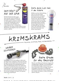 Titelbild der Ausgabe 5/2019 von KRIMSKRAMS. Zeitschriften als Abo oder epaper bei United Kiosk online kaufen.