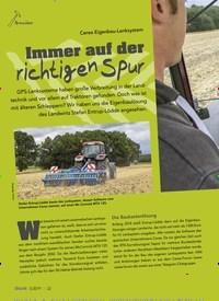 Titelbild der Ausgabe 5/2019 von Cerea Eigenbau-Lenksystem: Immer auf der richtigen Spur. Zeitschriften als Abo oder epaper bei United Kiosk online kaufen.