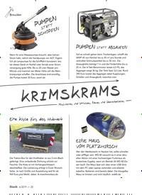 Titelbild der Ausgabe 6/2019 von KRIMSKRAMS. Zeitschriften als Abo oder epaper bei United Kiosk online kaufen.