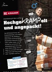 Titelbild der Ausgabe 6/2019 von Arbeitskleidung für Mann und Frau: HochgeKRAMPelt und angepackt!. Zeitschriften als Abo oder epaper bei United Kiosk online kaufen.