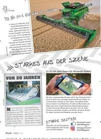 Titelbild der Ausgabe 1/2020 von STARKES AUS DER SZENE. Zeitschriften als Abo oder epaper bei United Kiosk online kaufen.