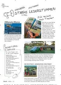 Titelbild der Ausgabe 1/2020 von FACEBOOK: INSTAGRAM: STARKE LESERSTIMMEN: E-MAIL. Zeitschriften als Abo oder epaper bei United Kiosk online kaufen.