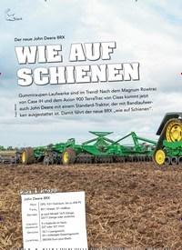 Titelbild der Ausgabe 1/2020 von Der neue John Deere 8RX: WIE AUF SCHIENEN. Zeitschriften als Abo oder epaper bei United Kiosk online kaufen.