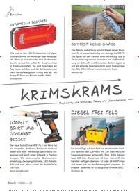 Titelbild der Ausgabe 1/2020 von KRIMSKRAMS. Zeitschriften als Abo oder epaper bei United Kiosk online kaufen.