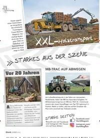 Titelbild der Ausgabe 2/2020 von STARKES AUS DER SZENE. Zeitschriften als Abo oder epaper bei United Kiosk online kaufen.