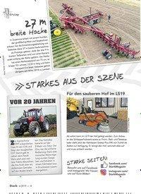 Titelbild der Ausgabe 6/2019 von STARKES AUS DER SZENE. Zeitschriften als Abo oder epaper bei United Kiosk online kaufen.