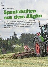Titelbild der Ausgabe 6/2019 von Neuer Fendt 942 Vario: Spezialitäten aus dem Allgäu. Zeitschriften als Abo oder epaper bei United Kiosk online kaufen.