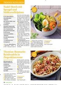 Titelbild der Ausgabe 5/2019 von Trendige Nudelideen. Zeitschriften als Abo oder epaper bei United Kiosk online kaufen.