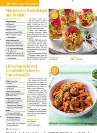 Titelbild der Ausgabe 4/2020 von TRENDIGE NUDELIDEEN. Zeitschriften als Abo oder epaper bei United Kiosk online kaufen.