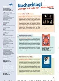 Titelbild der Ausgabe 74/2019 von Nachschlag!. Zeitschriften als Abo oder epaper bei United Kiosk online kaufen.