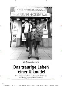 Titelbild der Ausgabe 2/2018 von Helga Feddersen: Das traurige Leben einer Ulknudel. Zeitschriften als Abo oder epaper bei United Kiosk online kaufen.