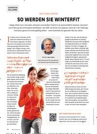 Titelbild der Ausgabe 6/2019 von EXPERTEN KOLUMNE: DER FITNESS-DOKTOR: SO WERDEN SIE WINTERFIT. Zeitschriften als Abo oder epaper bei United Kiosk online kaufen.