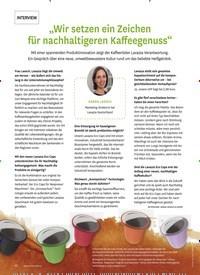"""Titelbild der Ausgabe 6/2019 von """"Wir setzen ein Zeichen für nachhaltigeren Kaffeegenuss"""". Zeitschriften als Abo oder epaper bei United Kiosk online kaufen."""