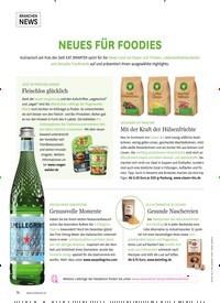 Titelbild der Ausgabe 6/2019 von NEUES FÜR FOODIES. Zeitschriften als Abo oder epaper bei United Kiosk online kaufen.
