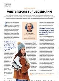 Titelbild der Ausgabe 1/2020 von DER FITNESS-DOKTOR: WINTERSPORT FÜR JEDERMANN. Zeitschriften als Abo oder epaper bei United Kiosk online kaufen.