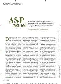 Titelbild der Ausgabe 4/2019 von ASP – AKTUELLE SITUATION: ASP aktuell. Zeitschriften als Abo oder epaper bei United Kiosk online kaufen.