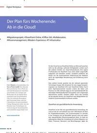 Titelbild der Ausgabe 1/2020 von Der Plan fürs Wochenende: Ab in die Cloud!. Zeitschriften als Abo oder epaper bei United Kiosk online kaufen.