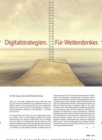 Titelbild der Ausgabe 4/2020 von Digitalstrategien. Für Weiterdenker.. Zeitschriften als Abo oder epaper bei United Kiosk online kaufen.