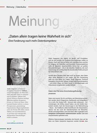 Titelbild der Ausgabe 5/2020 von Meinung. Zeitschriften als Abo oder epaper bei United Kiosk online kaufen.