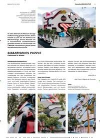 Titelbild der Ausgabe 4/2019 von GIGANTISCHES PUZZLE: Parkhaus in Miami. Zeitschriften als Abo oder epaper bei United Kiosk online kaufen.