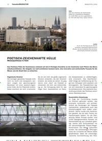 Titelbild der Ausgabe 4/2019 von fassadenBAUKULTUR : POETISCH-ZEICHENHAFTE HÜLLE: Messeparkhaus in Köln. Zeitschriften als Abo oder epaper bei United Kiosk online kaufen.