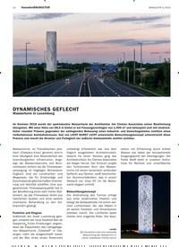 Titelbild der Ausgabe 4/2019 von DYNAMISCHES GEFLECHT: Wasserturm in Luxemburg. Zeitschriften als Abo oder epaper bei United Kiosk online kaufen.