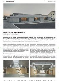 Titelbild der Ausgabe 1/2020 von betonBAUKULTUR: VON AUTOS, FÜR KINDER!. Zeitschriften als Abo oder epaper bei United Kiosk online kaufen.
