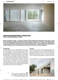 Titelbild der Ausgabe 1/2020 von betonBAUKULTUR: ANEIGNUNGSOFFENE STRUKTUR. Zeitschriften als Abo oder epaper bei United Kiosk online kaufen.