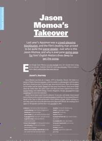Titelbild der Ausgabe 5/2019 von Jason Momoa's Takeover. Zeitschriften als Abo oder epaper bei United Kiosk online kaufen.