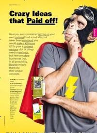 Titelbild der Ausgabe 5/2019 von Crazy Ideas that Paid off!. Zeitschriften als Abo oder epaper bei United Kiosk online kaufen.
