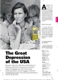 Titelbild der Ausgabe 5/2019 von The Great Depression of the USA. Zeitschriften als Abo oder epaper bei United Kiosk online kaufen.