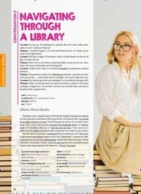 Titelbild der Ausgabe 5/2019 von CONVERSATION 2: NAVIGATING THROUGH A LIBRARY. Zeitschriften als Abo oder epaper bei United Kiosk online kaufen.