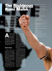 Titelbild der Ausgabe 6/2019 von The Righteous Rami Malek. Zeitschriften als Abo oder epaper bei United Kiosk online kaufen.