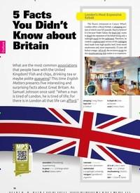 Titelbild der Ausgabe 6/2019 von 5 Facts You Didn't Know about Britain. Zeitschriften als Abo oder epaper bei United Kiosk online kaufen.