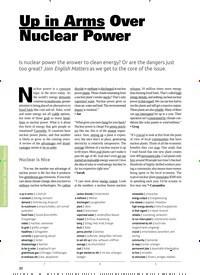 Titelbild der Ausgabe 6/2019 von Up in Arms Over Nuclear Power. Zeitschriften als Abo oder epaper bei United Kiosk online kaufen.