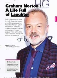 Titelbild der Ausgabe 1/2020 von Graham Norton: A Life Full of Laughter. Zeitschriften als Abo oder epaper bei United Kiosk online kaufen.