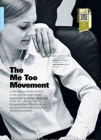 Titelbild der Ausgabe 4/2019 von The Me Too Movement. Zeitschriften als Abo oder epaper bei United Kiosk online kaufen.