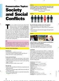 Titelbild der Ausgabe 4/2019 von Conversation Topics: Society and Social Conflicts. Zeitschriften als Abo oder epaper bei United Kiosk online kaufen.