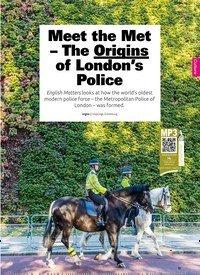 Titelbild der Ausgabe 4/2019 von Meet the Met – The Origins of London's Police. Zeitschriften als Abo oder epaper bei United Kiosk online kaufen.