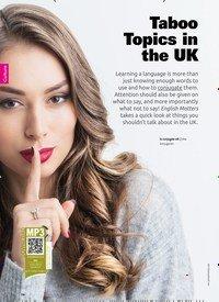 Titelbild der Ausgabe 4/2019 von Taboo Topics in the UK. Zeitschriften als Abo oder epaper bei United Kiosk online kaufen.