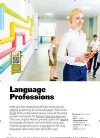 Titelbild der Ausgabe 5/2019 von Language Professions. Zeitschriften als Abo oder epaper bei United Kiosk online kaufen.