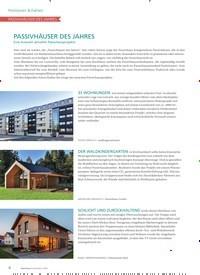 Titelbild der Ausgabe 1/2020 von Positionen & Fakten: Passivhäuser des Jahres. Zeitschriften als Abo oder epaper bei United Kiosk online kaufen.