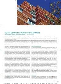Titelbild der Ausgabe 1/2020 von KLIMAGERECHT BAUEN UND WOHNEN. Zeitschriften als Abo oder epaper bei United Kiosk online kaufen.
