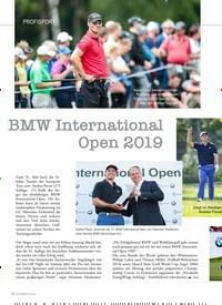 Titelbild der Ausgabe 2/2019 von PROFISPORT: BMW International Open 2019. Zeitschriften als Abo oder epaper bei United Kiosk online kaufen.