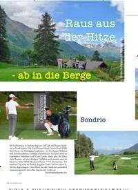 Titelbild der Ausgabe 2/2019 von GOLF-TIPPS: Raus aus der Hitze-ab in die Berge. Zeitschriften als Abo oder epaper bei United Kiosk online kaufen.